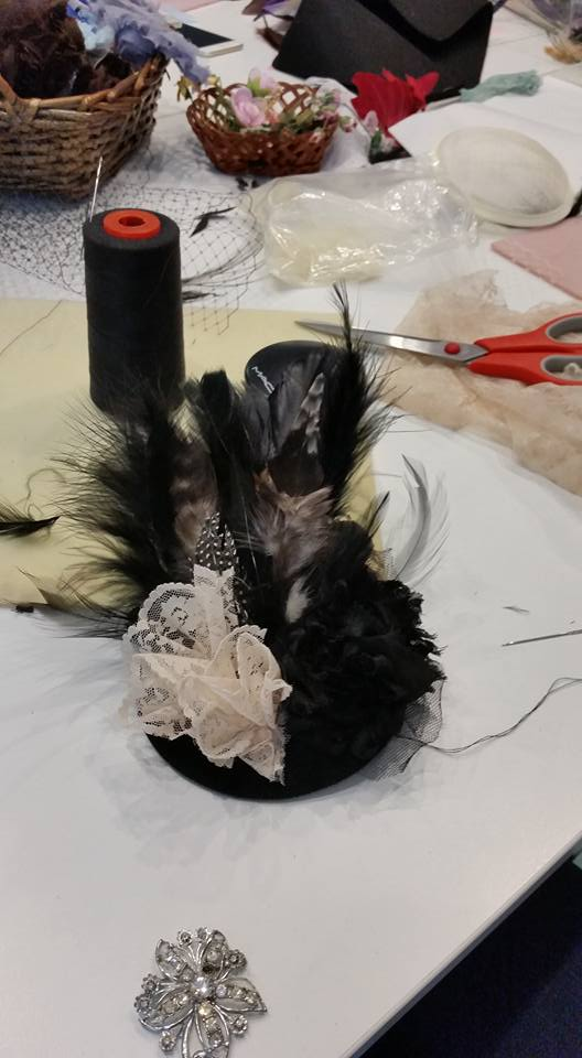 Headdress making